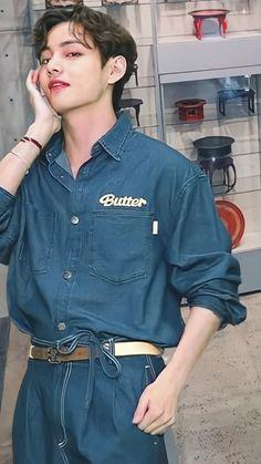 Kim Taehyung Funny, Jungkook Cute, V Taehyung, Bts Bangtan Boy, V Cute, I Love Bts, Daegu, Foto Bts, Korean Singer