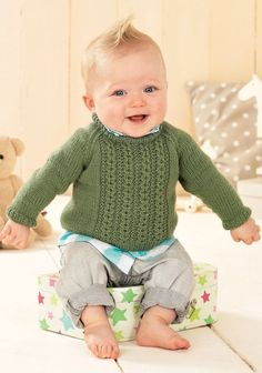 Baby Vintage by Snuggly knitting pattern by Sirdar has 14 gorgeous designs in Snuggly DK yarn. Beautiful range of vintage baby designs. Sirdar Knitting Patterns, Baby Hat Knitting Pattern, Baby Sweater Patterns, Baby Patterns, Cardigan Pattern, Baby Cardigan, Sweater Cardigan, Baby Jumper, Cable Sweater