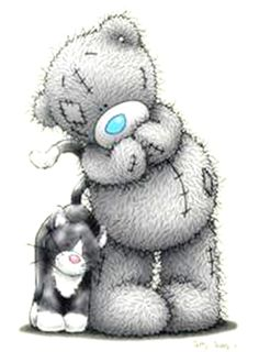 Tatty teddy © me to you tatty teddy, oso teddy, teddy pictures, blue Tatty Teddy, Cartoon Drawings, Cute Drawings, Teddy Bear Pictures, Bear Graphic, Bear Drawing, Baby Posters, Blue Nose Friends, Love Bear