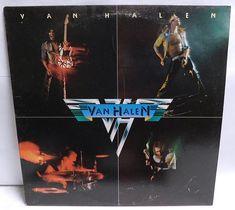 Vintage Vinyl Record Album Van Halen Self title debut album 1978 Warner Brothers records Winchester pressing Matrix: sx A sx Condition: Cover -VG+ some wear/soiling inner - small seam split, wear Vinyl - EXC some wear/use see pics Vinyl Record Collection, Vintage Vinyl Records, Warner Brothers, Van Halen, Debut Album