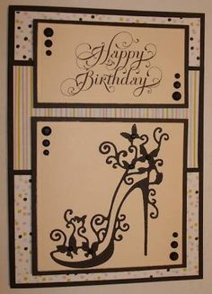 Bildergebnis für pinterest birthday cards unbranded cutting dies