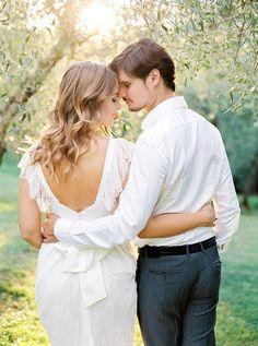 Alexandra & Alexey. Tuscany, Italy. |