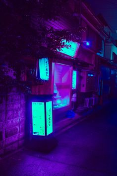 Violet Aesthetic, Dark Purple Aesthetic, Aesthetic Japan, Neon Aesthetic, Blue Neon Lights, Neon Led, Neon Light Art, Neon Purple, Neon Colors