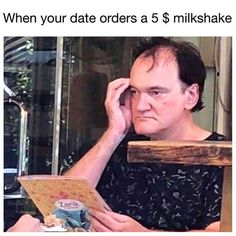 BROTHERTEDD.COM Quentin Tarantino, Milkshake, Dankest Memes, Cinema, Dating, Baseball Cards, Gifs, Instagram, Smoothie