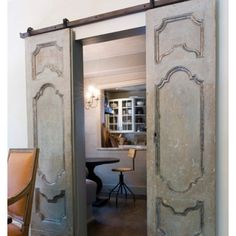 This would look awesome in a master bedroom that opened up to the master bath!