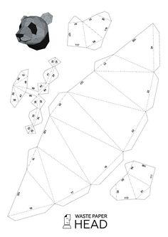 Vous pouvez faire un pandas tête de papier pour la décoration intérieure ! Impression numérique (modèle raster. Pandas tête PDF) contient 6 pages et 20 pièces (niveau : intermédiaire). Avec elle, vous pouvez créer une sculpture de papier polygonale. Pour obtenir le résultat final, vous devez effectuer les étapes suivantes : 1. imprimer le modèle sur du papier épais. Pour cela, vous devriez acheter la densité de papier coloré 160-240 g/m2. Dimensions de la sculpture future dépend de la…