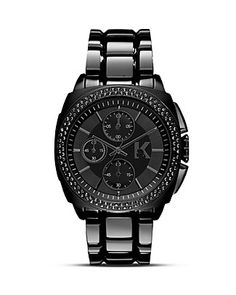 KARL LAGERFELD Karl Keeper Watch, 40mm | Bloomingdale's.  What a great gift for Mark's birthday. :)