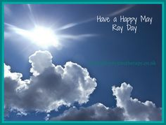 So, today is May Ray Day! Hmmmm...how is the weather with you this afternoon? Not sure Devon got the memo! #mayrayday #whatspringsunshine?