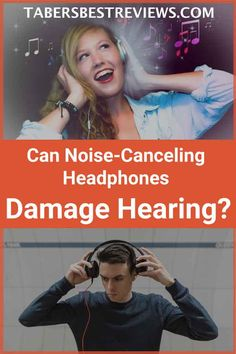 Can you harm your ears or cause hearing loss by wearing noise canceling headphones? Find out in this informative article.
