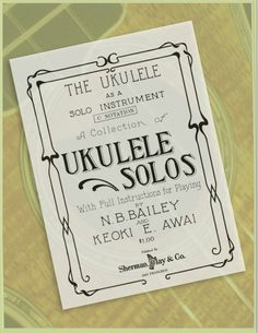 10 best music musica images on pinterest music instruments the ukulele as a solo instrument ukulele solos e book fandeluxe Gallery