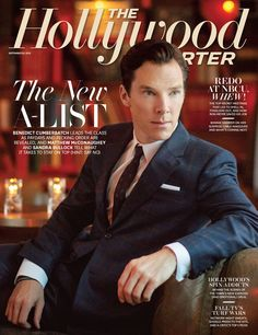 And The Hollywood Reporter. | 37 Times In 2013 Benedict Cumberbatch Proved He Was King Of The Internet