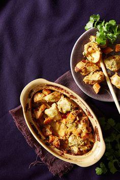 Chicken and sweet potato stew. Food & style Kati Pohja, photo Johanna Myllymäki. Kotivinkki Magazine 2013.