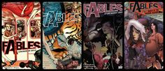 This is a guide to getting into Fabletown and Beyond for those new and potentially new readers of Bill Willingham's brilliant 'Fables'.
