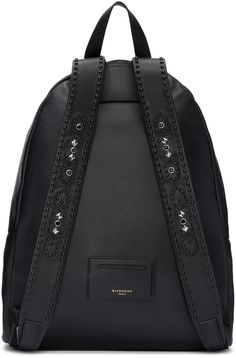 Givenchy - Black Leather Iconic Backpack