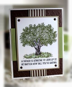 Stampin' Up Father's Day Card by nitestamper on Etsy