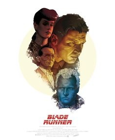 An alternative movie poster for the film Blade Runner, created by Dani Blazquez, featured on AMP Movie Poster Art, Poster On, Poster Prints, Art Print, Sf Movies, Sci Fi Movies, Indie Movies, Action Movies, Blade Runner Poster