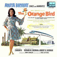 Anita Bryant-The Songs And Stories Of The Orange Bird 1971 Disney Records, Disney Music, Disney Movies, Disney Stuff, Disney Birds, Make Mine Music, Polynesian Village Resort, Orange Bird, Walt Disney Studios