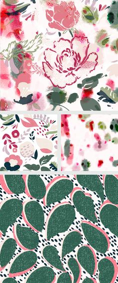 Print Patterns, Pattern Designs, Design Lab, Surface Pattern Design, Textile Design, Spice Things Up, Bloom, Textiles, Quilts