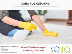 Everyone wants a beautiful, fresh and spotless carpet at home. But, the use of the chemical product can be harmful to your sensitive carpet. So, we at SoHo rug cleaning bring organic carpet cleaning services. Call us for more details: (718) 509-6934
