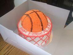 Basketball And Baseball Cakes cakepins.com