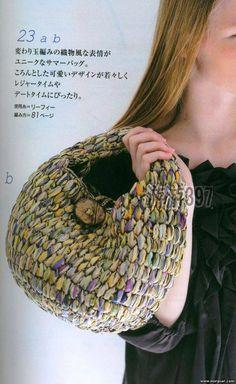 작은 토드백 : 네이버 블로그 Yarn Bag, Diy Crafts Hacks, Casual Bags, Knitting Designs, Knit Patterns, Straw Bag, Purses And Bags, Crochet Hats, Pouch