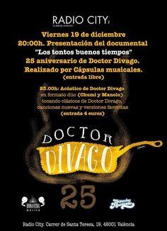Los tontos buenos tiempos, el documental sobre DOCTOR DIVAGO en su 25 aniversario       Continúan las muestras de reconocimiento a una de las mejores bandas nacionales de rock en su 2...http://woody-jagger.blogspot.com/2014/12/los-tontos-buenos-tiempos-documental-sobre-doctor-divago-25-aniversario.html