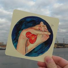 Только до конца недели!!!!😍😍😲😲😲  Цена 60 р за открытку с доставкой!😉  #сиона_открытки   Чуть ближе и подробнее о каждой😍  Формат: 7х7  Края: скругленные  Цвет бумаги:слегка желтоватый  Качество бумаги: плотная открыточная.  Этот рисунок пронизан моими чувствами к мужу)рисовала с наших ручек)😍  #открытки#открытка#арт#почта#подарокдругу#тюльпаны#акварель#рисую#художник#цветы#flower#акварельныецветы  #акварель