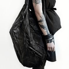 Collaborate objects 139DEC and jewelry line WILDHORN  WILDHORN BRACELET | BLACKMETAL SERIES buy online wildhornj.com 139DEC vest x backpack buy online 139dec.com #leatherbackpack #bag #bangle #cuff