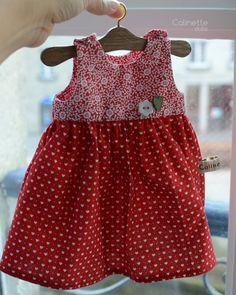 Dream baby filles rose pivoine Roses Lemon Trim printemps robe ou Reborn Dolls