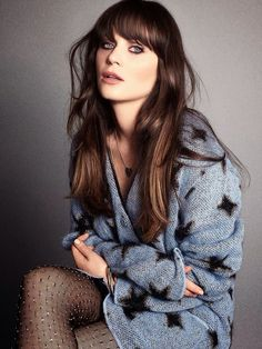 Zooey Deschanel- Marie Claire Sept 2013. I need to know what lipstick she is wearing here!!