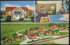 New Market VA Don-Dee Court Vintage Motel Sheanandoah
