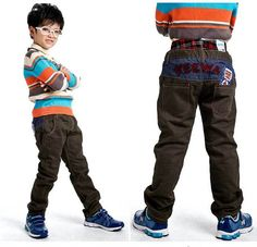 Aliexpress.com : Buy Free Shipping Kids Trousers Boys Cool Wear Elastic Waist Long Pants, two colors K0338 from Reliable Boys Pants suppliers on SICIBAY - Kids' Clothing:Selling for Donating