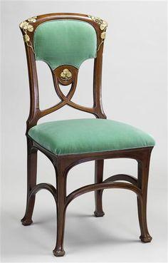 Art Nouveau Interior, Art Nouveau Furniture, Regency Furniture, Antique Furniture, Chair Design, Furniture Design, House Of Leaves, Reproduction Furniture, Antique Chairs