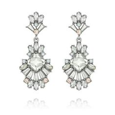 Today's Featured Product Look: Celestial Frost Post Drop Earrings  Reg. $48 but now ONLY $36 with code: FFSPRING17   Shop:  https://www.chloeandisabel.com/products/E249/celestial-frost-post-drop-earrings   Romantic in both color + design, our Celestial Frost mini-collection is fit for a queen. Faceted crystal baguettes, set in stunning fan arrangements, frame clusters of frosted + transparent stones in a subtle feminine palette. #jewelry #sale #fashion #accessories #shopping #boutique…