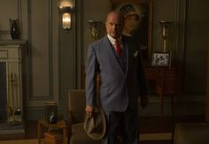 The Last Tycoon Kelsey Grammer  Review.   Matt wears the hell out of the 1930's suits.