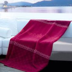 @Overstock - This blanket features a beautiful pattern and precious velvet binding created with high quality German craftsmanship. The composition is 60-percent cotton and 40-percent dralon for a smooth and comfy feel.http://www.overstock.com/Bedding-Bath/Bocasa-Bazaar-Woven-Throw-Blanket/7026690/product.html?CID=214117 $62.99