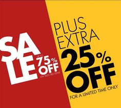 Get 75% OFF on Selected Items + an Extra 25% OFF @ #Donnaclaire ! For more Sales/Specials http://www.mysidekick.co.za/download.html?utm_content=buffer09f8d&utm_medium=social&utm_source=pinterest.com&utm_campaign=buffer