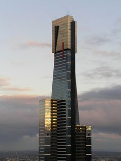 Eureka Tower was jaw dropping stunning Chinese Architecture, Beautiful Architecture, Architecture Details, Modern Architecture, Stair Detail, Roof Detail, Eureka Tower, Neoclassical Interior, Steel Structure Buildings