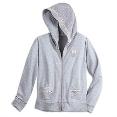 Minnie Mouse Lace and Dot Zip Hoodie for Women - Disney Boutique