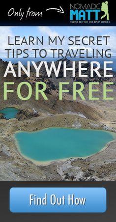 20 Ways to cut Your Expenses...Money for Travel - Nomadic Matt