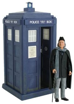 Doctor Who: The First Doctor And Electronic Tardis