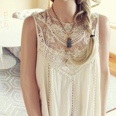 Lace Gypsy Dress: Alternate View #2