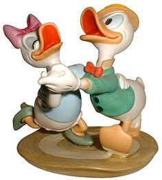 """Mr. Duck Steps Out - Donald & Daisy - """"Oh Boy, What a Jitterbug!"""" Limited Edition 5,000$295"""