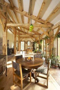 Grafton Timber Frame House