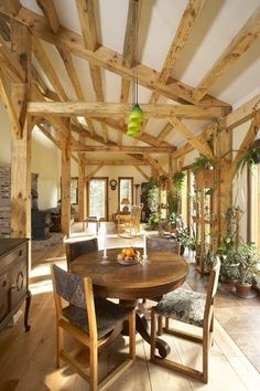 Grafton Timber Frame House