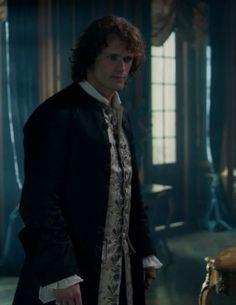 "Jamie Fraser (Sam Heughan) in Episode 205 ""Untimely Resurrection"" of Outlander Season Two on Starz"