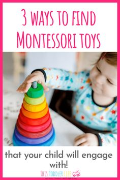 Montessori toys that your child will engage with. Montessori toys for your Montessori toddler or Montessori baby. Diy Montessori Toys, Montessori Practical Life, Montessori Toddler, Toddler Preschool, Toddler Toys, Kids Toys, Montessori Bedroom, Montessori Homeschool, Educational Activities For Toddlers