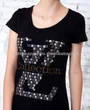 2013 Fancy Rhinestone Printed Custom T shirt Manufacturer High Quality Made In China  best seller follow this link http://shopingayo.space