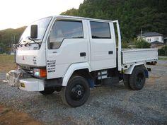 Mitsubishi Truck, Mitsubishi Canter, Mini Trucks, 4x4 Trucks, Ford Transit Camper, Camper Boat, Utility Truck, Expedition Vehicle, Japanese Cars