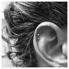 No Piercing Simple Ear Cuff Double Ring Hoop/piercing imitation/fake faux piercing/ear jacket manchette/conch ear wires/ohrklemme ohrclip - Custom Jewelry Ideas Ear Piercings Conch, Faux Piercing, Cute Ear Piercings, Multiple Ear Piercings, Cartilage Earrings, Piercing Tattoo, Body Piercing, Stud Earrings, Tongue Piercings